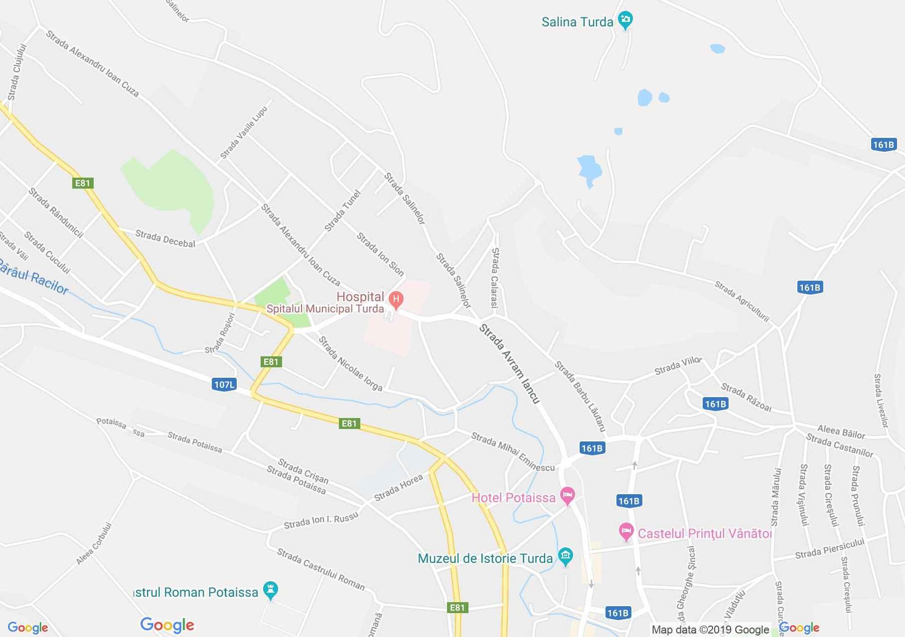 Torda: Torda (térkép)